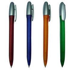 Twistable Ball Pen Siliver Cap