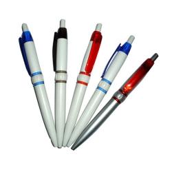 Plastics Retractable Ball Pen